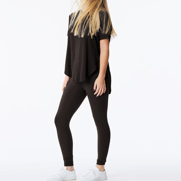 Joah Brown – Live in Slouchy Tee in Black
