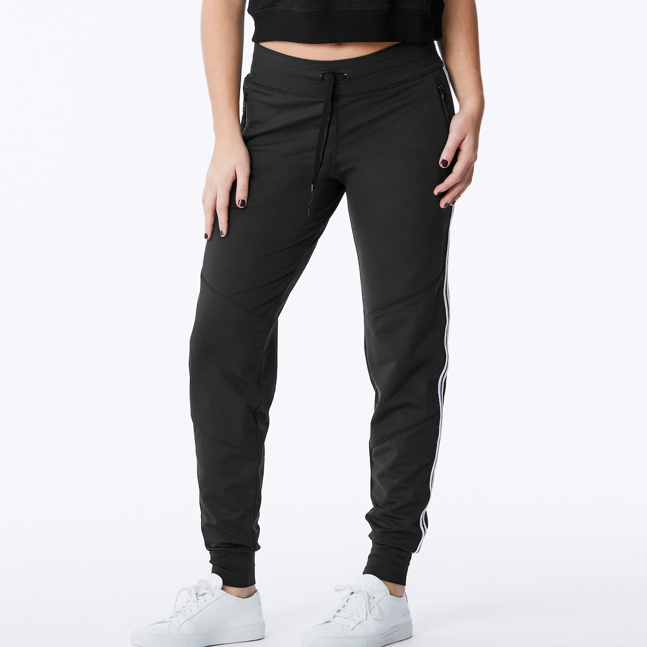 Lukka Lux – Singled Out Jogger in Black