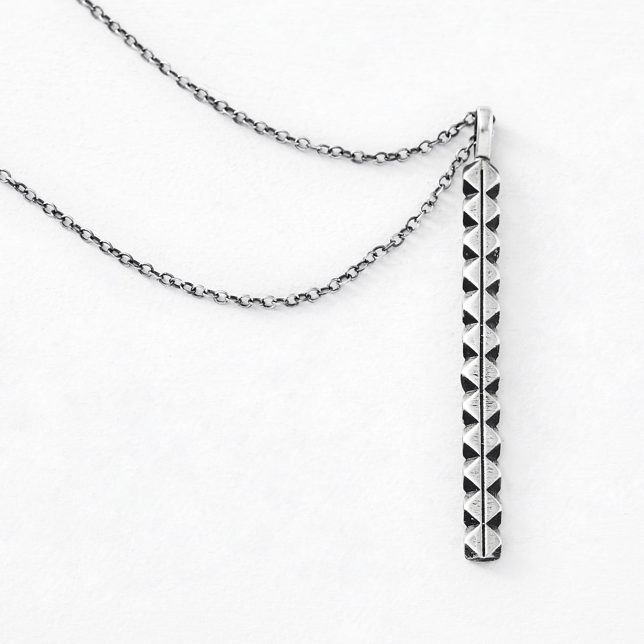 reliance pendant oxidized silver