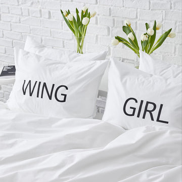 wing girl shams white