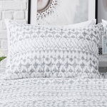 lattice print sham cement