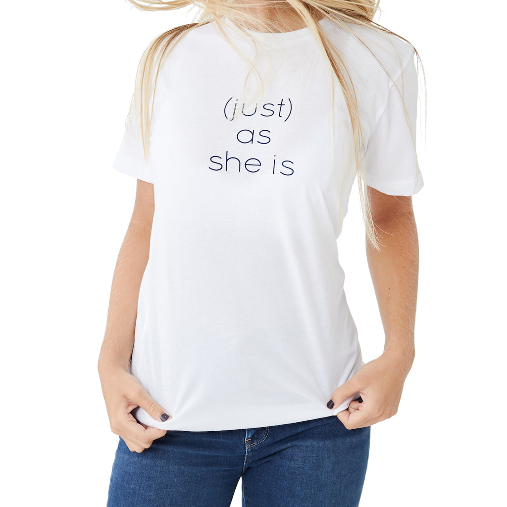 (just) as she is tee