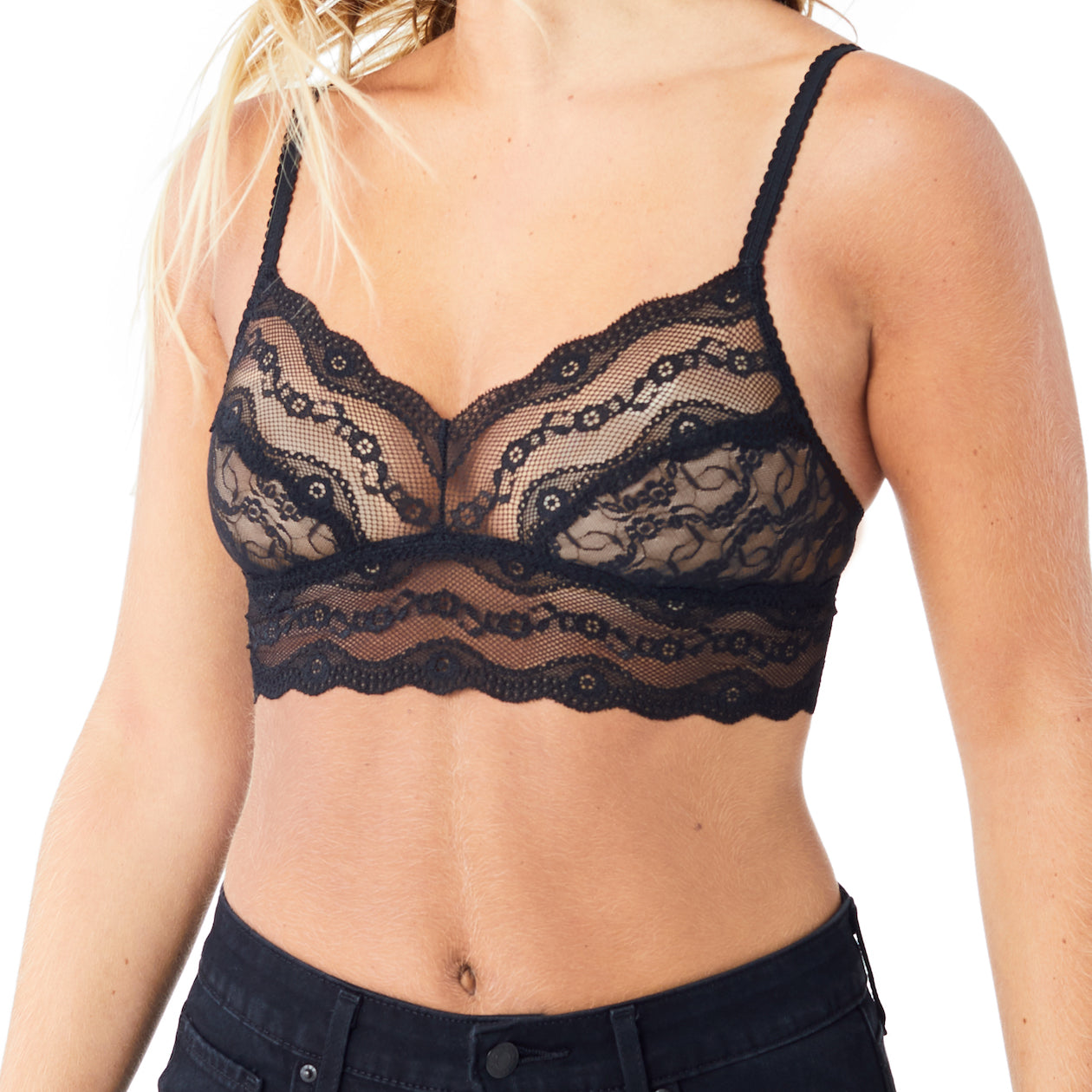 lace kiss bralette