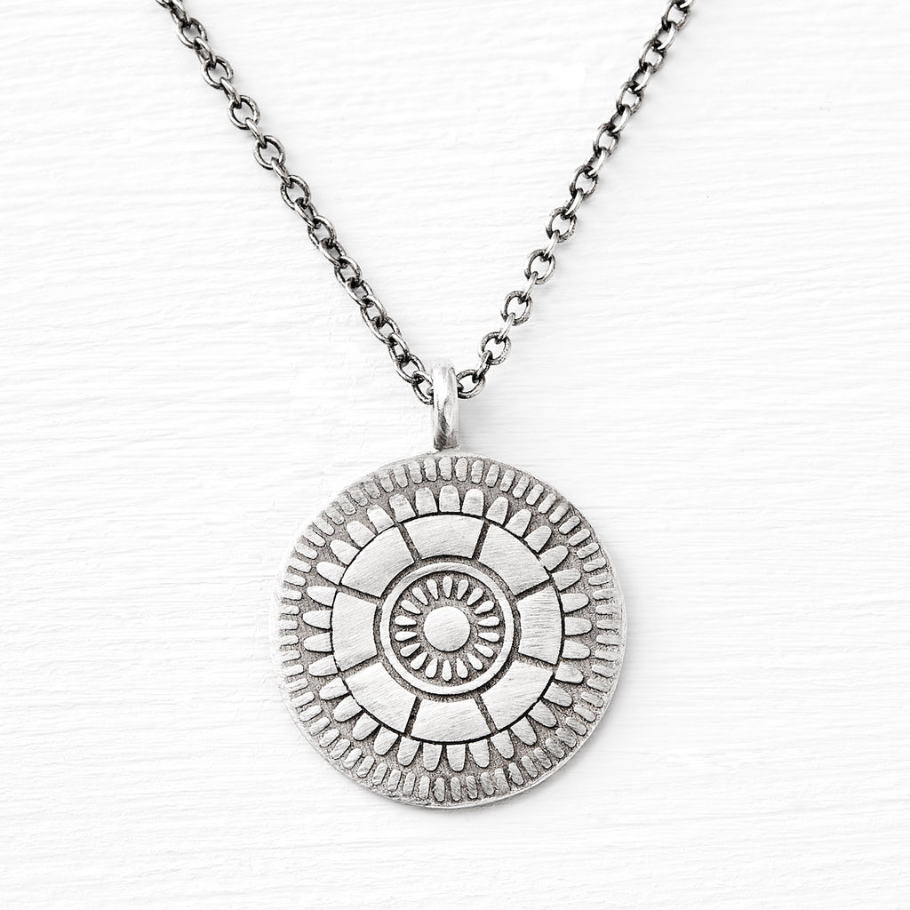 medallion pendant