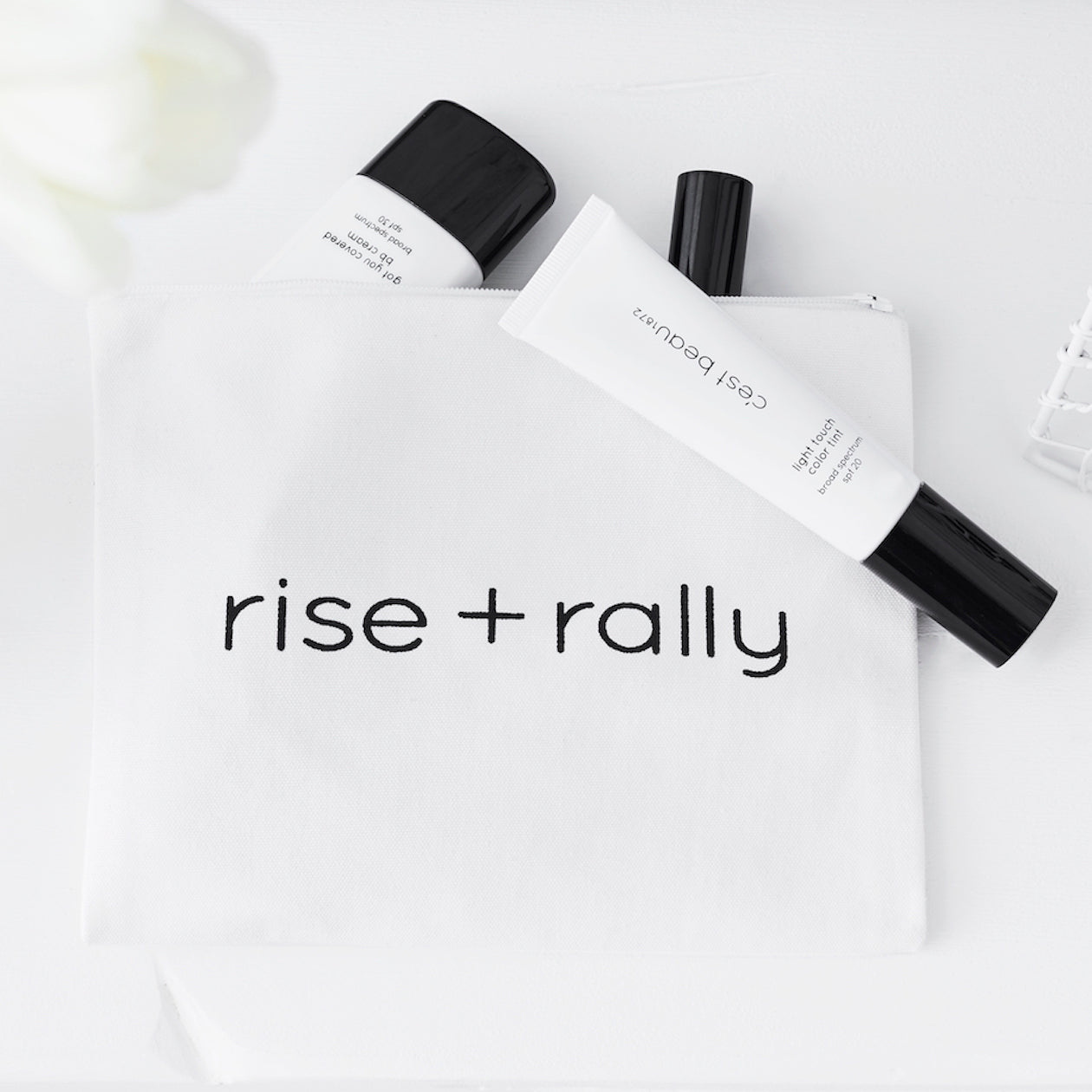 c'est beau1872 Beauty Accessories – Rise and Rally Pouch
