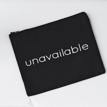 c'est beau1872 Beauty Accessories – Unavailable Pouch in Black