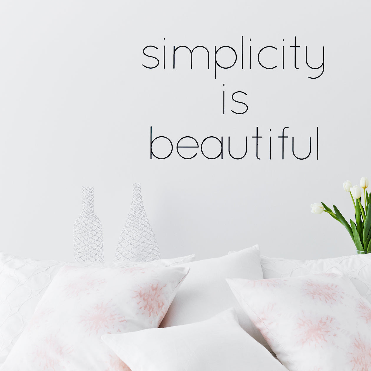 """simplicity is beautiful"""