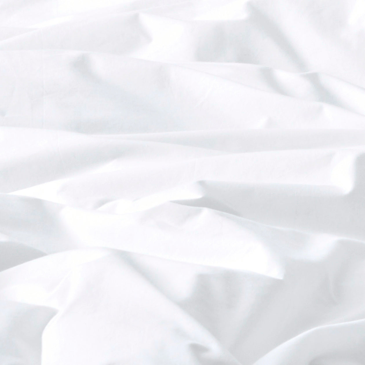 solid cotton duvet white