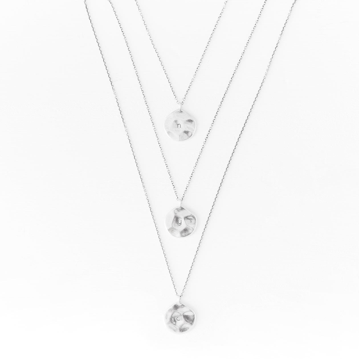 Luv AJ Silver Necklace Chain - c'est beau1872 Jewelry