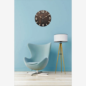Dark Walnut Wall Clock BSWC048DS