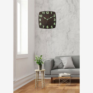 Radium Night Glow Wall Clock BSWC070