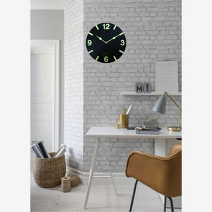 Radium Night Glow Wall Clock BSWC045