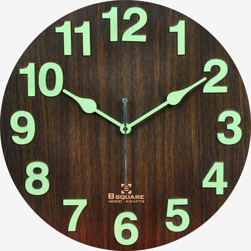 Radium Night Glow Wall Clock BSWC060