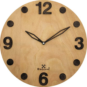Natural Wood Wall Clock BSWC079