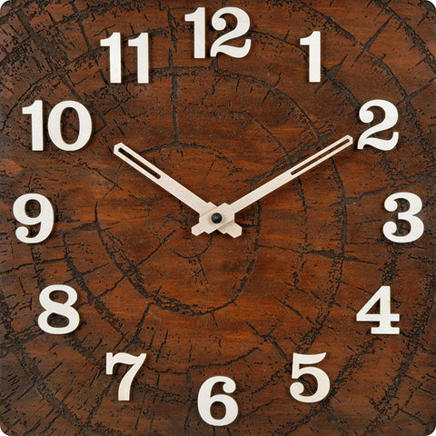 Tree Ring Wall Clock BSWC038