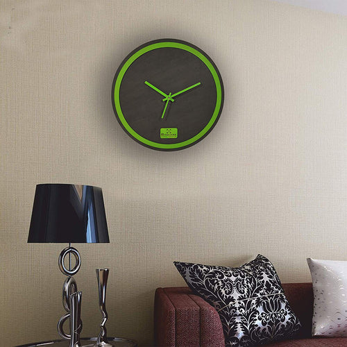 Green Rim Wall Clock BSWC078G