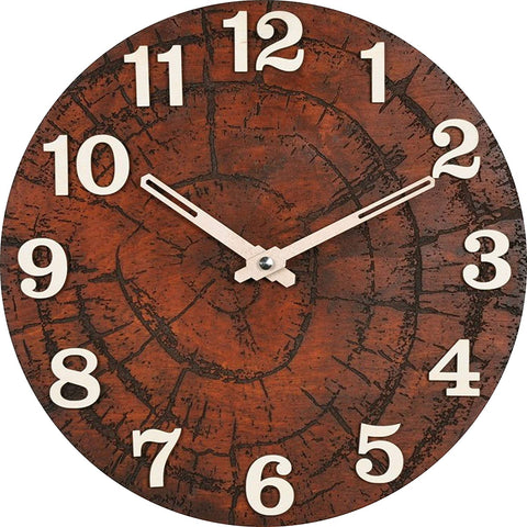 Tree Ring Wall Clock BSWC037