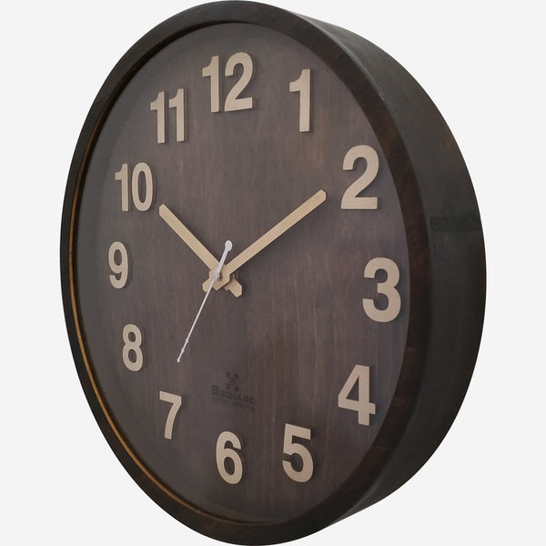 Glass covered Clock BSGC048FN