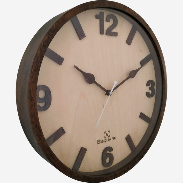 Glass covered Clock BSGC048WD