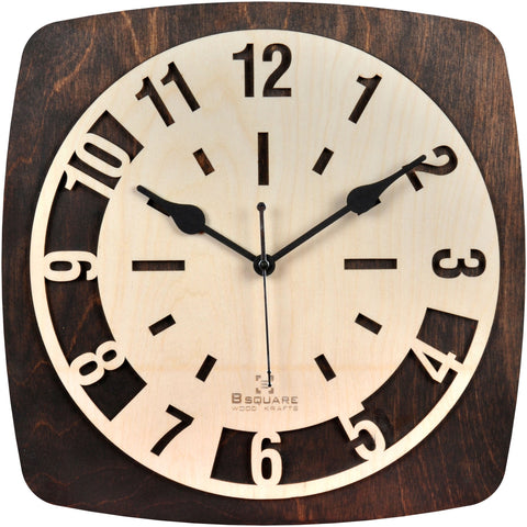 Trendy Wood Wall Clock BSWC061