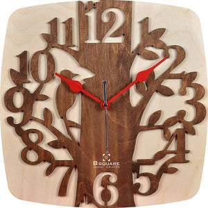 Bird Tree Wall Clock BSWC065