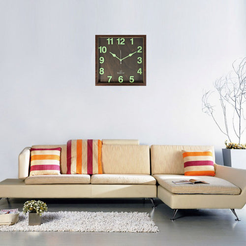 Radium Night Glow Wall Clock BSWC076