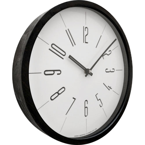 Wood Wall Clock BSGC087BW