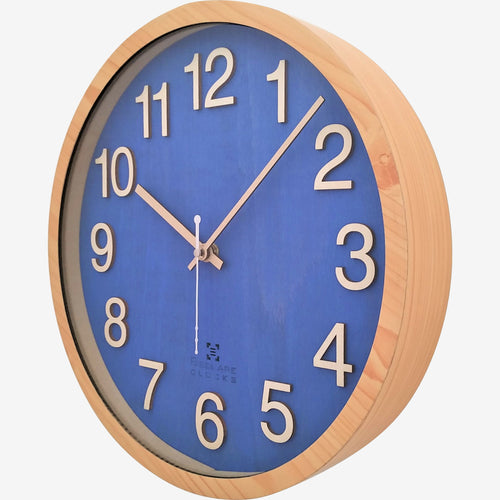 Wood Wall Clock BSGC086BL