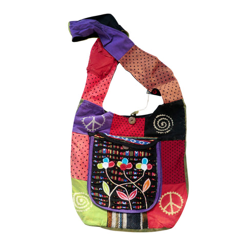 Cotton Shoulder Bag - Matico