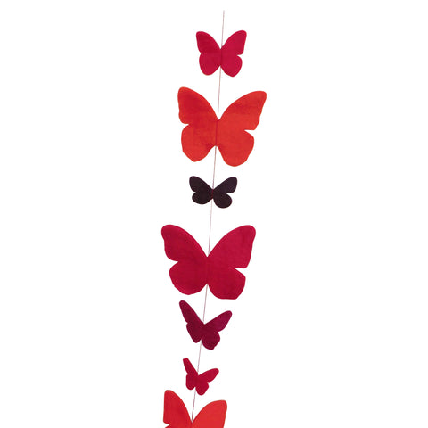 Butterfly Felt Strings - Matico