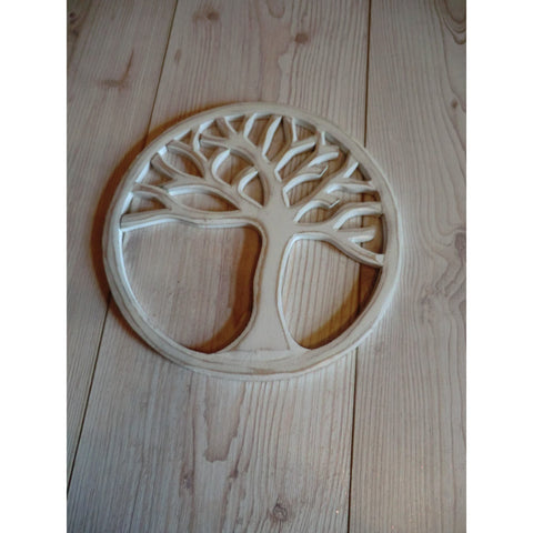 Tree of Life Round Plaque - Matico
