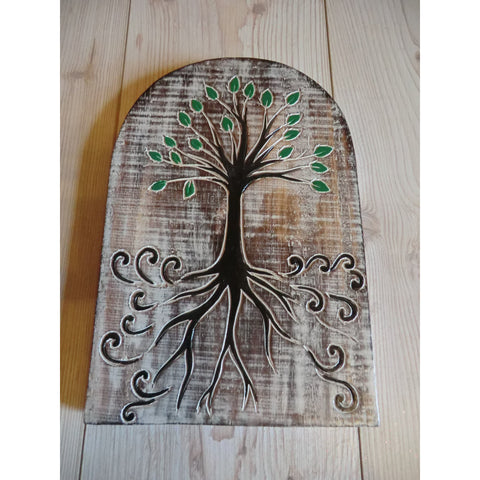 Tree of Life Plaque - Matico