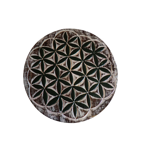 Flower of Life Plaque - Matico