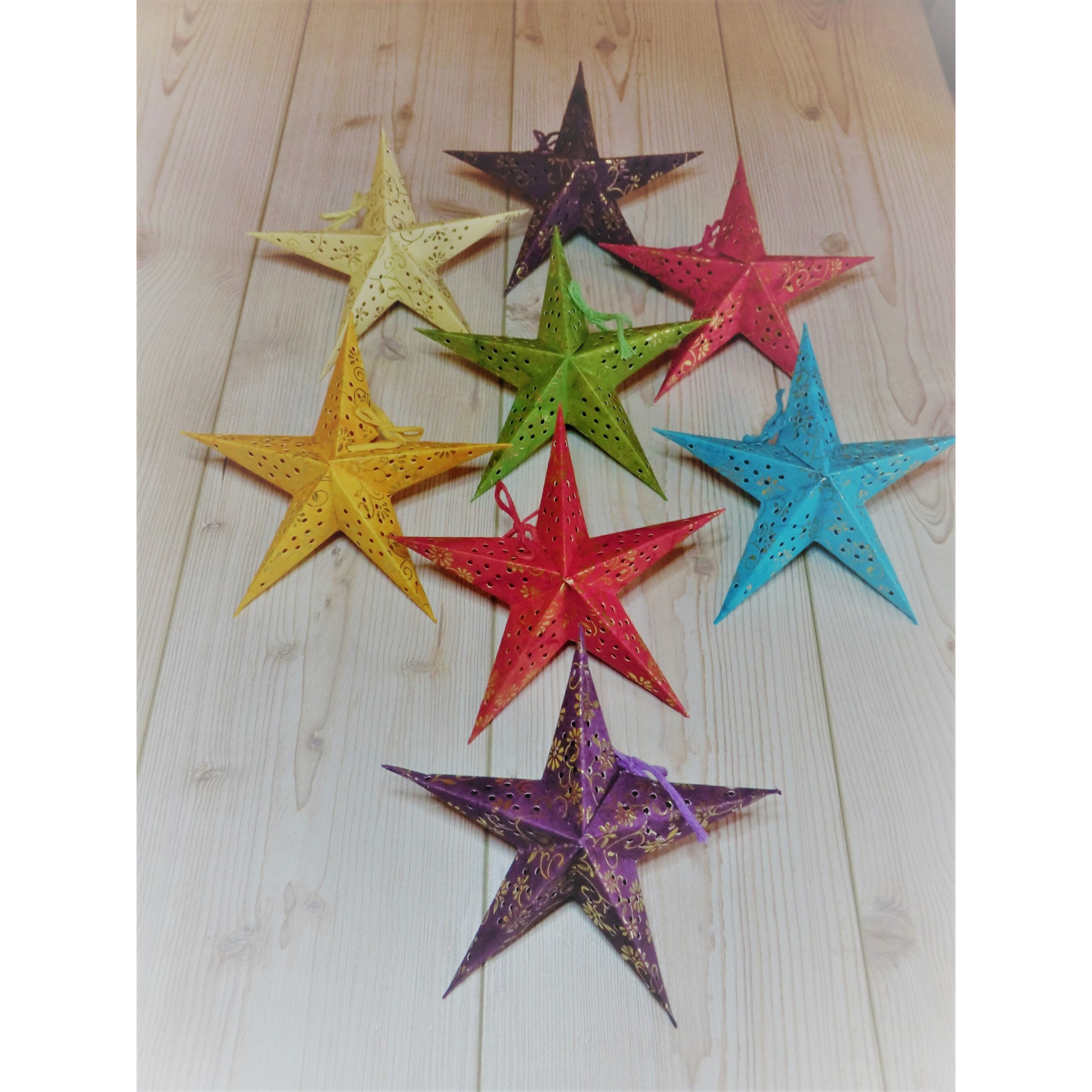 Paper Mini Stars (Pack of 8) - Matico