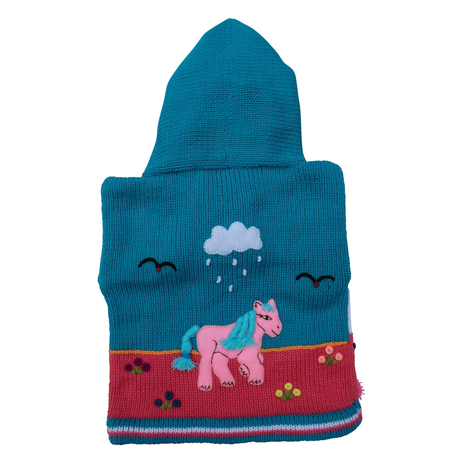 Children's Sea Green Cardigan - Pony - Matico