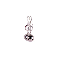 Sterling Silver Sphere Earrings - Matico