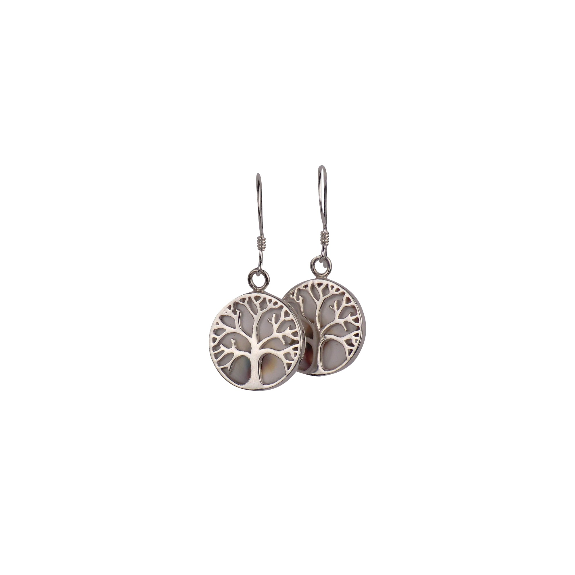 Sterling Silver Tree of Life Earrings - Matico