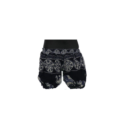 Black Harem Pants 0 - 6mnths - Matico