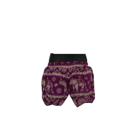 Pink/ Purple Harem Pants 0 - 6mnths - Matico
