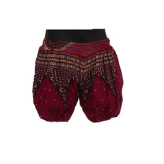 Red Harem Pants 0 - 6mnths - Matico