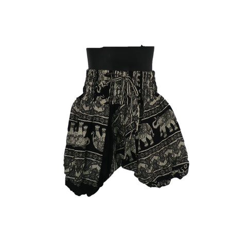Black Harem Pants 1 - 2yrs - Matico