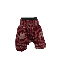 Red Harem Pants 1 - 2yrs - Matico