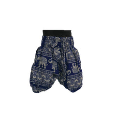 Blue Harem Pants 1 - 2yrs - Matico