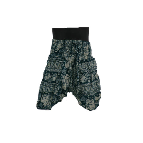 Green Harem Pants 1 - 2yrs - Matico