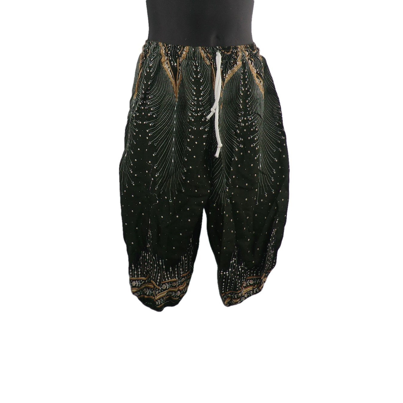 Trousers with Peacock Feathers 2 - 3yrs - Matico