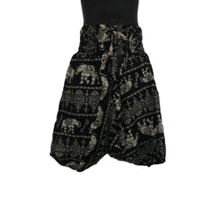 Black Harem Pants 3 - 5yrs - Matico
