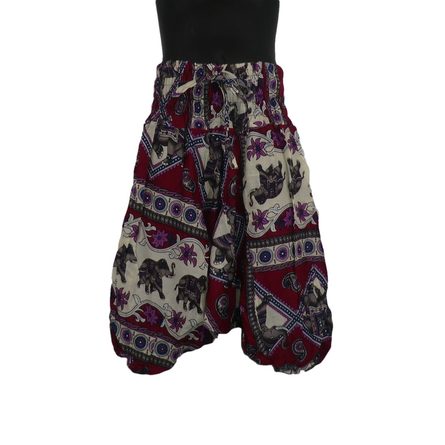 Multi Coloured Harem Pants 3 - 5yrs - Matico