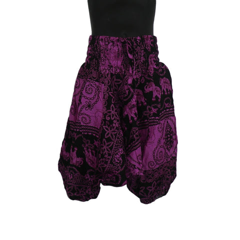Pink/ Purple Harem Pants 3 - 5yrs - Matico