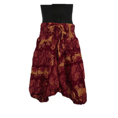 Red Harem Pants 3 - 5yrs - Matico