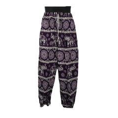 Purple/ Pink Elephant Trousers 5 - 7yrs - Matico
